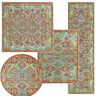 Unique Loom Traditional Carpet Oriental Area Rug Home Bed...