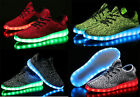 4 Color LED Light Lace Up Luminous Shoes Sportswear Sneaker (USB rechargeable)AA