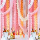 Birthday Wedding Party Paper Garland Hang Tissue Clover Strings Home Decor LJ