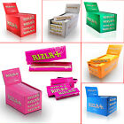 New RIZZLA+ Natural Organic Hemp SMALL Size Booklets Rolling Papers 1 5 10 25 50