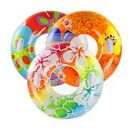 "38"" Swim Ring With Handles Inflatable Tube Beach Swimming Pool Swim Rubber Ring"