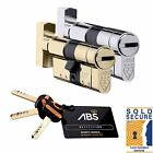 Avocet ABS Security Thumb Turn Euro Cylinder UPVC Door Lock Anti Snap Star TS007