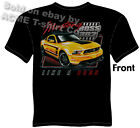 Mustang T Shirt 302 Boss Ford Tee Ponycar Muscle Car Apparel Sz M L XL 2XL 3XL