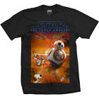 Star Wars Ep VII The Force Awakens Official Printed T-shirt - BB-8 Composition £10.95 GBP on eBay