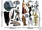 Star Wars Stickers Room Mates Classic or Contempory Collection Wall Art decals
