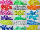 10 - 25mm Novelty Plastic Dolphin Pony Beads - Color Choice