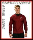 SCI FI STAR TREK SPOCK TV MOVIES CAPTAIN KIRK SCOTTY UNIFORM FANCY DRESS MENS