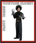 Edward Scissorhands TV Movies Hollywood Fancy Dress Costume Mens Halloween