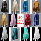 JC Satin Shiny Belly Dance Half Circle Skirt Tribal Jupe Flamenco Gypsy Long 5yd
