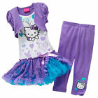 Hello Kitty  Size 4 girl outfit dress set