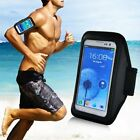 CUSTODIA COVER FASCIA DA BRACCIO SPORT FITNESS ARMBAND NERO per Apple iPhone