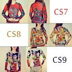 30 Design Tattoo Shirt Mesh Sleeve for Rocker Club Fancy Cosplay Women T-shirts