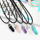 Women's Quartz Crystal Stone Gemstone Charm Pendant Necklace Jewelry Choker High