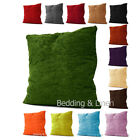 "18"" x 18"" / 22"" x 22"" Plain Luxury Soft Chenille Sofa Cushion Cover Case"