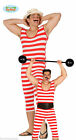 Mens Old Time Bathing Suit 1920's Weightlifter Victorian W Swimsuit Fancy Dress