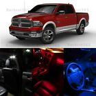 LED Lights Bulb Map Dome License Plate Interior Package for Dodge