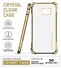 For Samsung Galaxy S7 Edge Case | Ghostek COVERT Shockproof Protective Gel Cover