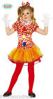 NEW CLOWN GIRL Circus  Fancy Dress Spotted Dress Tutu Girls Book Week