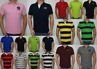 New Abercrombie FITCH A&F by Hollister Men Hunters Pass Polo Shirt Muslce Size