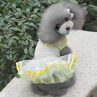 New Dog Cat Bow Tutu Dress Lace Skirt Pet Puppy Princess Costume Apparel Clothes