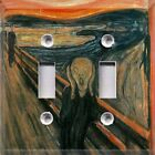 Historical Art~The Scream~Light Switch Plate Cover ~Home Decor