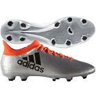 adidas X 16.3 FG 2016 Soccer Shoes Cleats New Liquid Silver / Orange