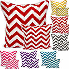 "New Cushion Covers Set 100% Cotton Throw Pillow Square Case, Sofa Couch 18""x18"""