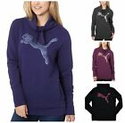 New Womens PUMA FRENCH TERRY COWL NECK PULLOVER SWEATSHIRT   VARIETY You Pick!!