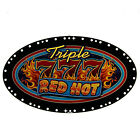 IGT Topper Insert Triple Red Hot Sevens (808-374-00)