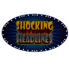IGT Topper Insert Shocking Headlines (808-410-00)
