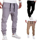 Men's Trousers Sweatpants Harem Pants Slacks Casual Jogger Dance Sportwear Baggy