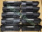 10 Virgin Genuine Empty HP 12A Laser Toner Cartridges FREE SHIPPING Q2612A