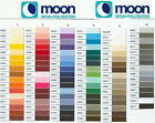 Moon Polyester Sewing Theads -1000 Yard Spools - Full Range Of Colours FREE POST
