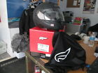 Fulmer Darkness Modus Full Face Helmet w/ Clear Shield & Tint Shade  AF-M2 AFM2