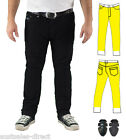 Mens Slim Black Motorcycle Jeans Fully Lined Protection + CE Armour Finn Moto