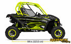 Can Am Maverick Genesis Manta Green  Decal Graphic Kit Wraps