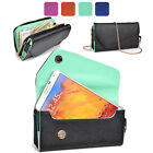 KroO Fad PU Leather Protective Wallet Case Clutch Cover for Smart-Phones XLUB9
