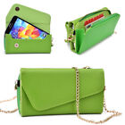 Womens PU Leather Wallet Case Cover & Crossbody Clutch for Smart-Phones MLUB31