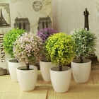 Artificial Topiary Tree & Ball Plants In Pot Garden Home Decor Outdoor Indoor