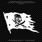 Pirate Skull And Swords Flag Jolly Roger Vinyl Decal Window Sticker