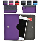 Womens Protective Wallet Case Cover for Smart Cell Phones by KroO ESDC-14 MD