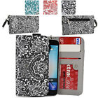 Ladie's Convertible Paisley Smartphone Wallet Cover & Wristlet Clutch ESMLP2-10