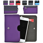 Womens Protective Wallet Case Cover for Smart Cell Phones by KroO ESDC-17 MD