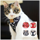 Cat walking jacket vest lead leash comfortable harness training outdoor 2 colors