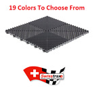 Swisstrax  Ribtrax Flooring Tiles  - All Colors - (Pack of 25) Authorized Dealer