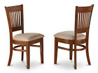 Set of 2 Vancouver Chairs for dining room - Espresso Finish