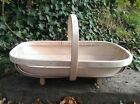 Quality Hand Made Traditional Sussex Trug. South Downs Design. 5 Year guarantee