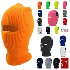 Men Women Ski Mask Full Face Beanie Hat 3 Hole Warm Cap Winter Hat Ski Snowboard