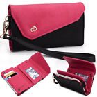 Womens Link Wallet Case Clutch Cover for Smart Cell Phones by KroO CRWL6