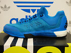 NEW ADIDAS 2015 Crazylight Boost Primeknit Basketball Shoes - Blue/Black S85577